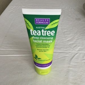 New Australian Tea Tree Deep Cleansing Facial Mask